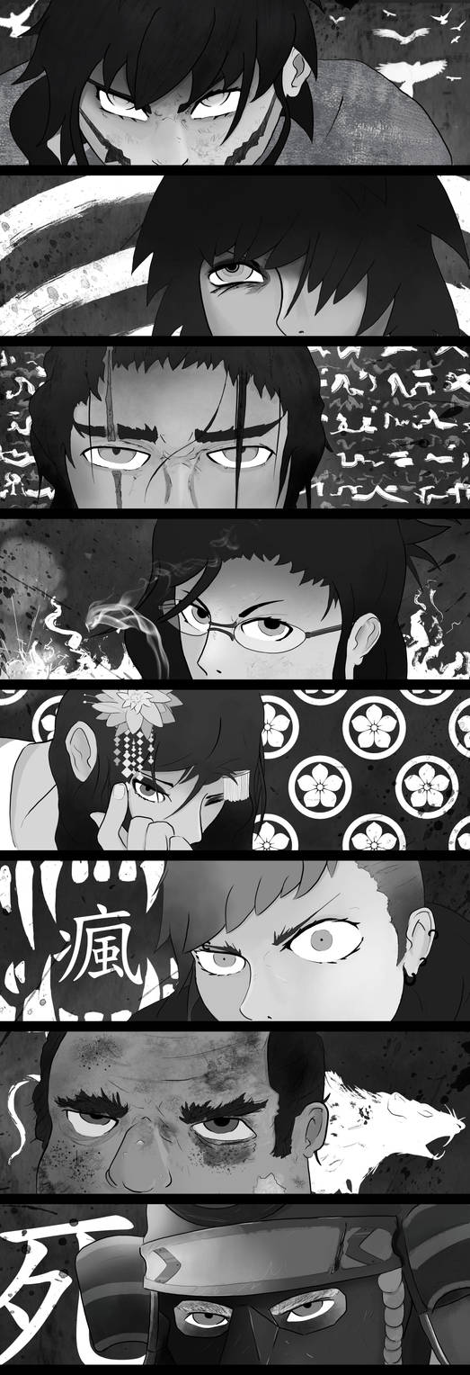 Kaidan - Character Art: Eyes