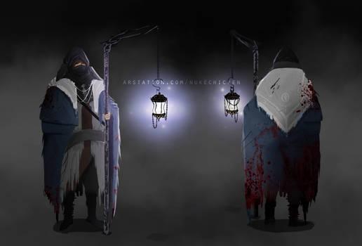 Bloodborne 2 : Fan concept art Cathedral Watcher