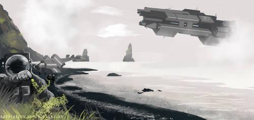 Sci Fi Planet Study