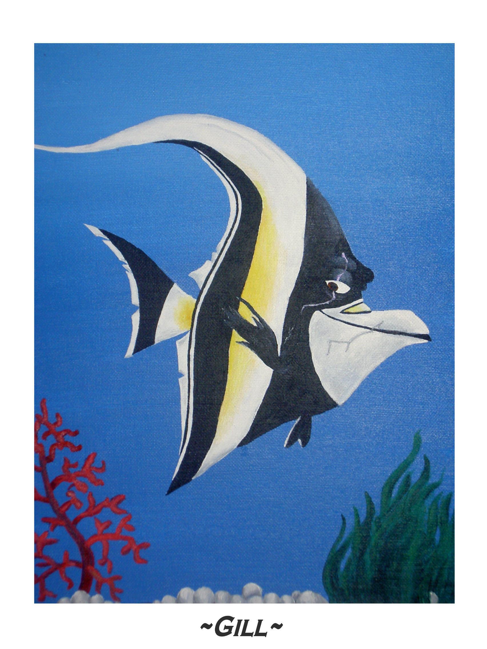 Finding Nemo WallpaperGill From Finding Nemo