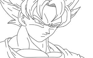 Just a Goku lineart by carapau