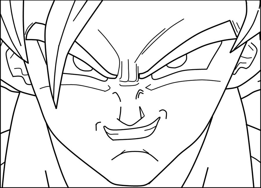 Imagenes de Goku Sj1 Dibujo de goku Goku y Dragon ball