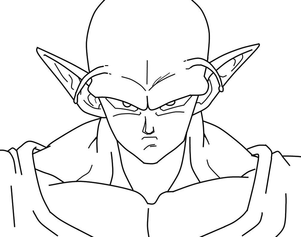 How To Draw Dbz Piccolo