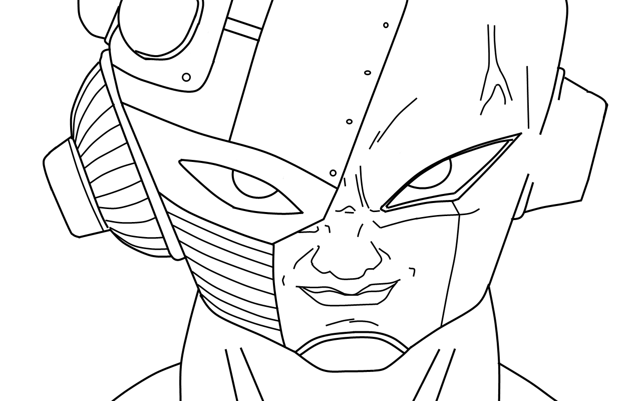 dbz coloring pages frieza - photo#34