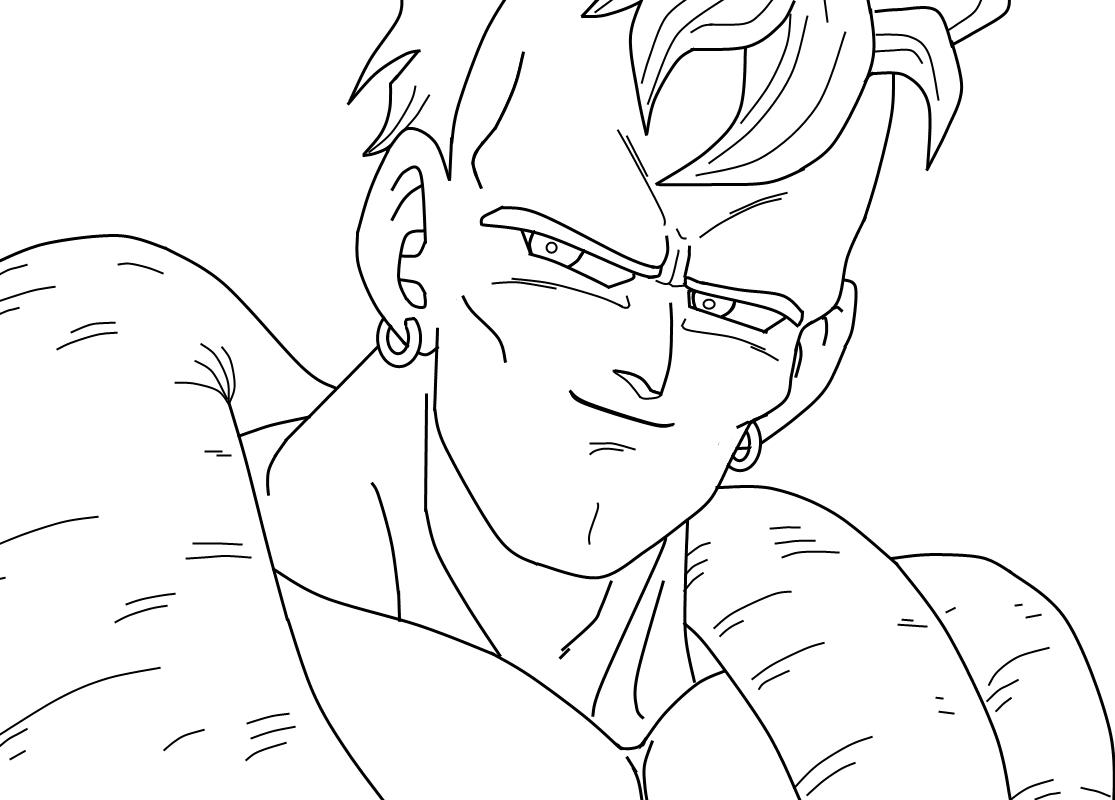 Dibujos De Goku Y Sus Transformaciones Para Colorear: صور شخصيات دراغون بول للتلوين