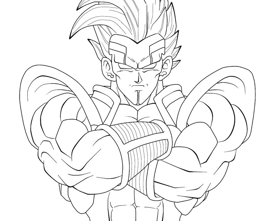 Baby-Vegeta Closeup WIP By Carapau On DeviantArt