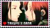 Takumi x Nana stamp 2 by carapau
