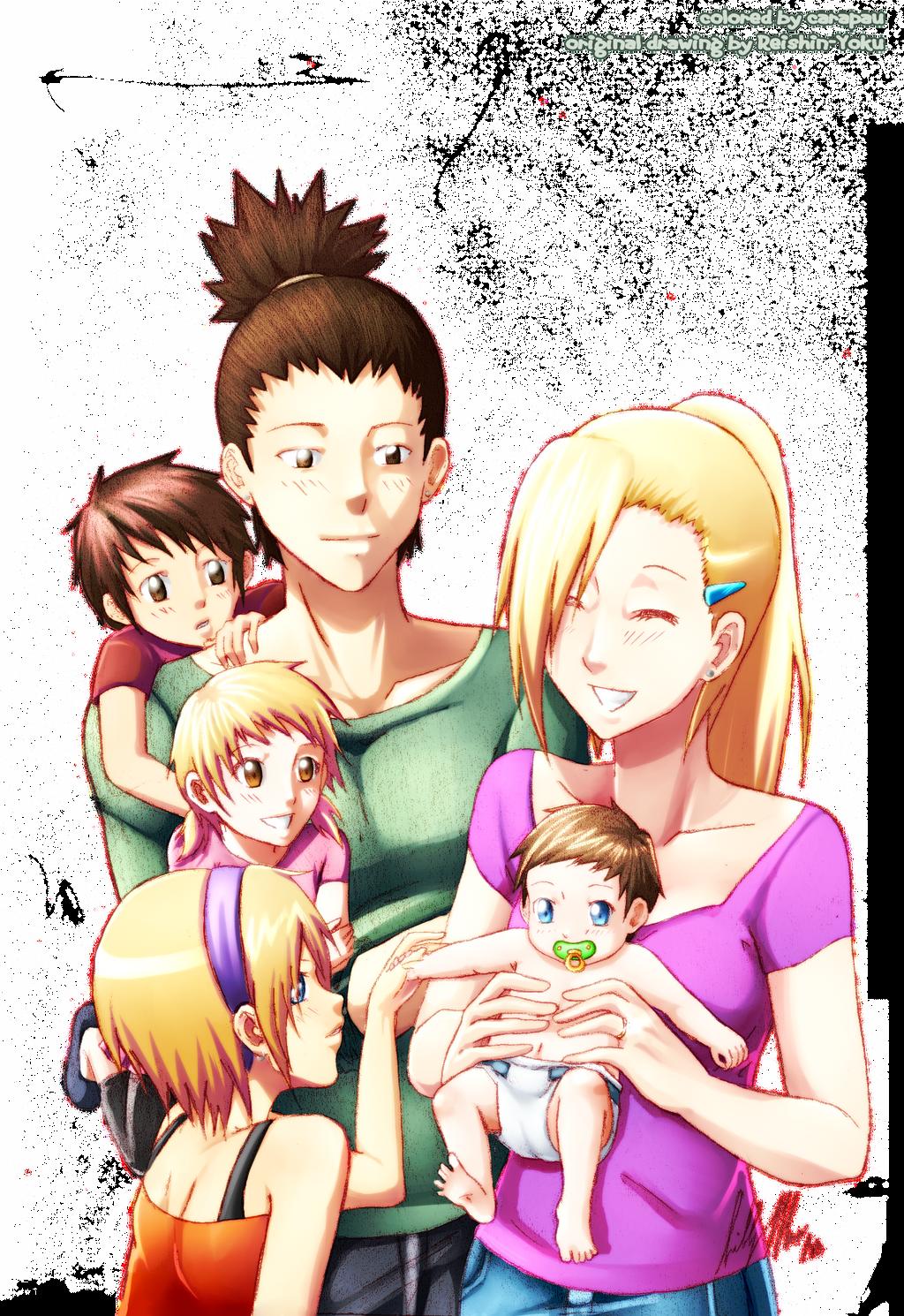The Nara Family by car...