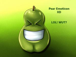 Pear Emoticon XD copy