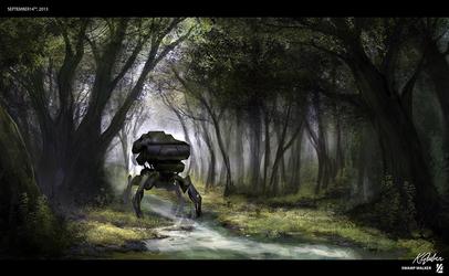 Swamp Walker by FluidStudios