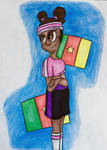 Nyotalia. Cameroon (Without Glasses) by tomahookdragons12341