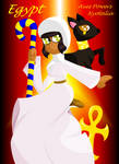 Nyotalia. Egypt by tomahookdragons12341