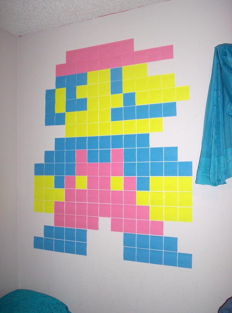 Sticky Note Mario By Silverinkblot On Deviantart
