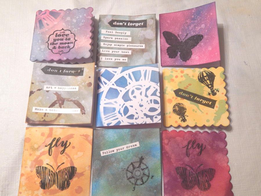 Tiny Cards by SilverInkblot
