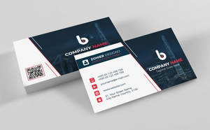 Modern Corporate Business Card 2018