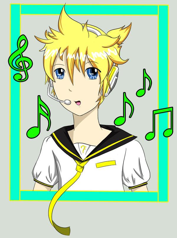 Vocaloid.:.Len by RandomSkilled