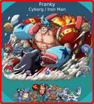 Franky, Pokemon x One Piece Team by LuxrayHeart