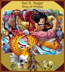 Gol D. Roger, Pokemon x One Piece Team by LuxrayHeart