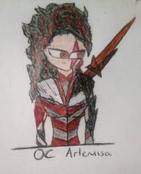 OC Artemisa by Elmisternferz2016