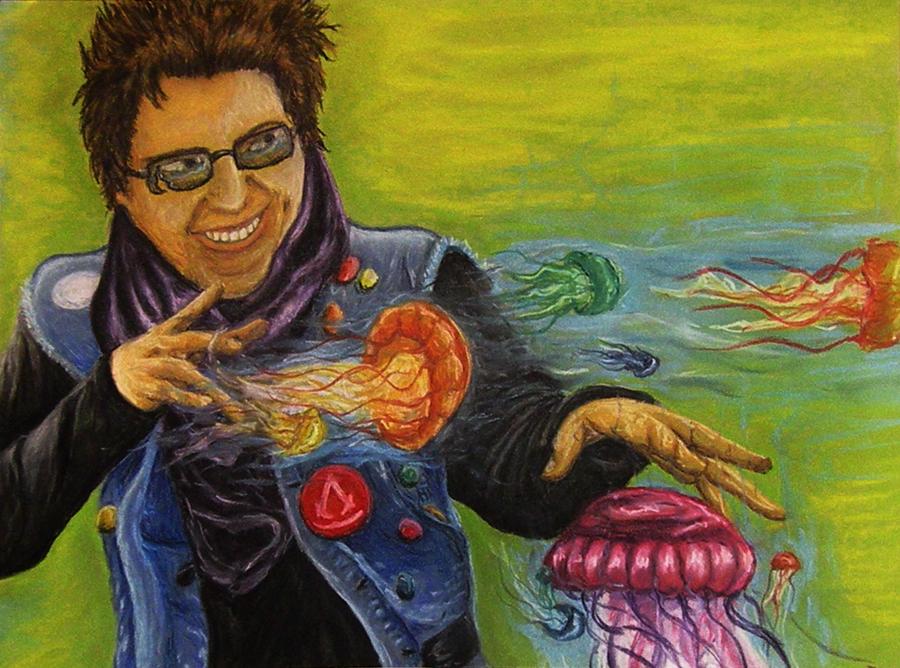 Jellyfish Man by MindlessWolf