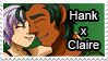 Hank x Claire Stamp by Aileen-Rose