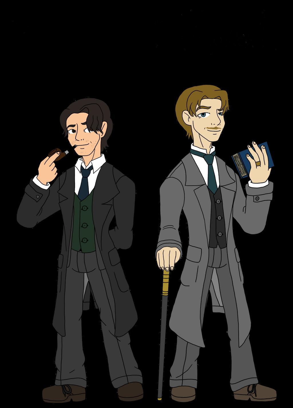 Illogical: Sherlock and Watson by Aileen-Rose