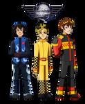 Planes: Tsubasa, Yellow Bird and Antonio