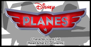 Planes Character Icons List