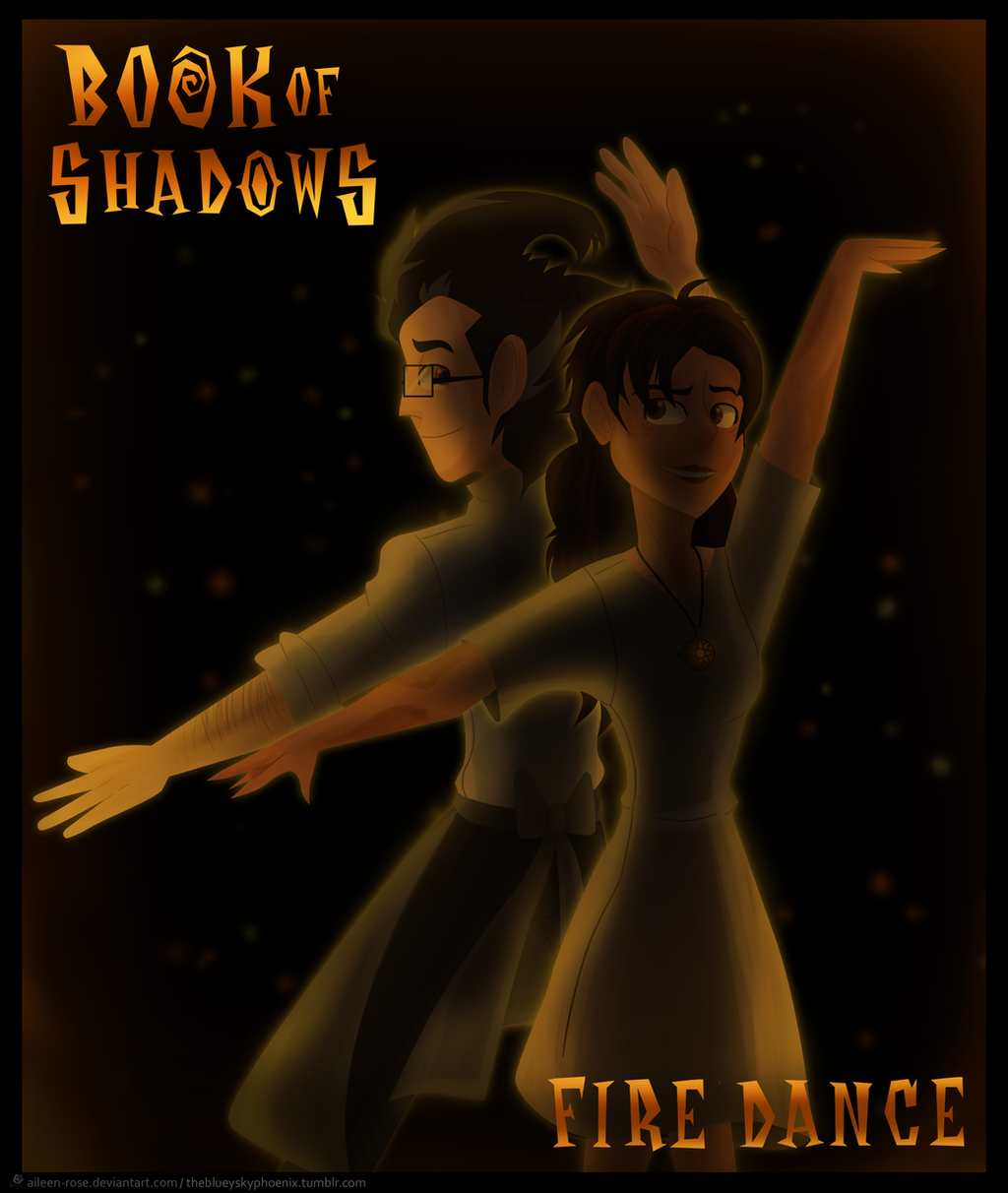 Book of Shadows: Fire Dance by Aileen-Rose