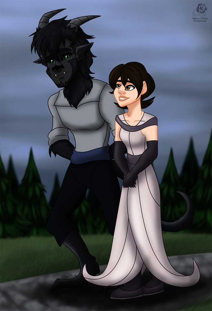 DS: A Stroll with a Beast by Aileen-Rose