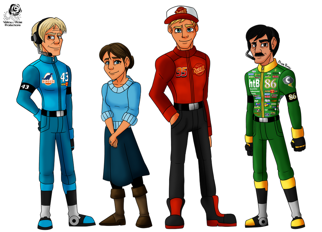 Cars Racing World Folks By Aileen Rose On Deviantart