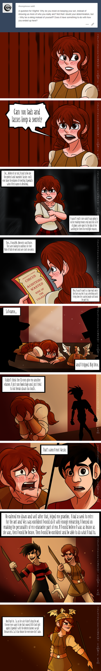 Ask the Cast # 101 by Aileen-Rose