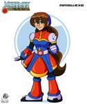 Megaman: Airisu.exe by Aileen-Rose