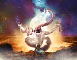 Embrace Nyarlathotep, the crawling chaos