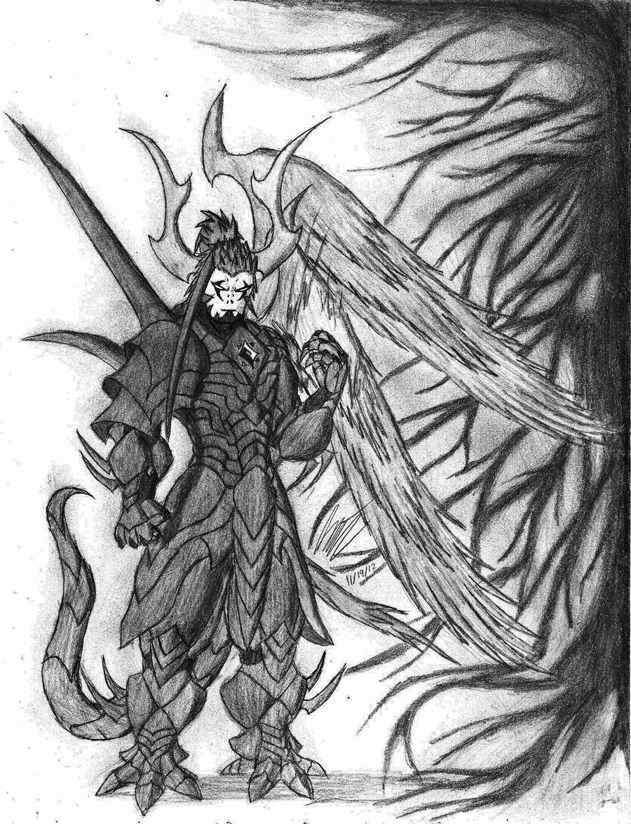 The Dark Lord Revalokai DeSataniablo in Darkness by D4rKMaTT3r