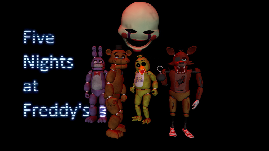 Five nights at freddy s 3 fan made by goldguy0710 on deviantart
