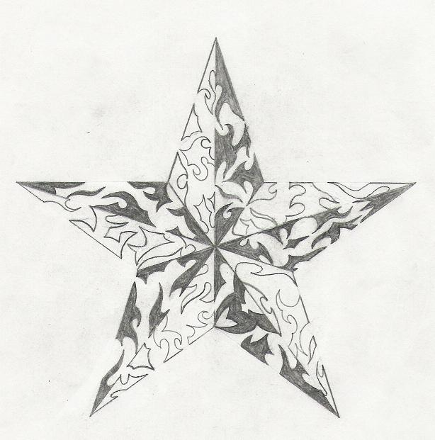 Tribal Star by Kredence101 on DeviantArt