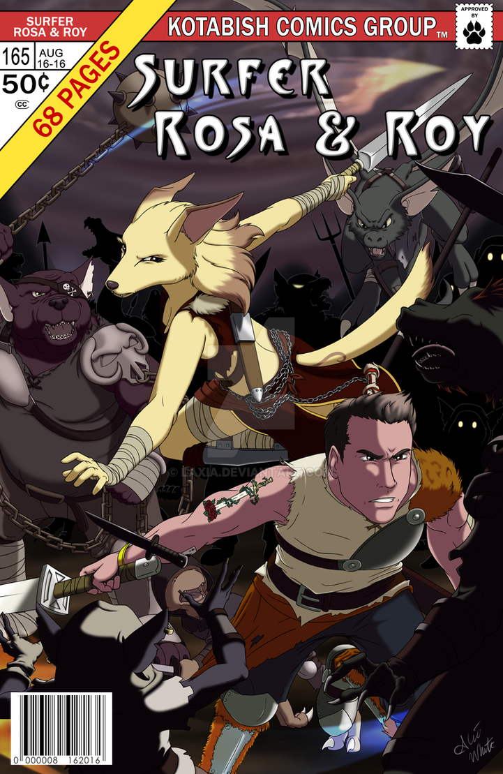 Commission Surfer Rosa and Roy by Laxia