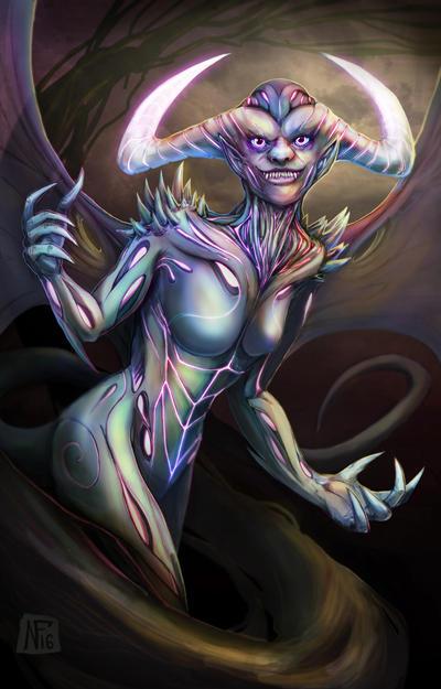 Demonic Manifest by Deems