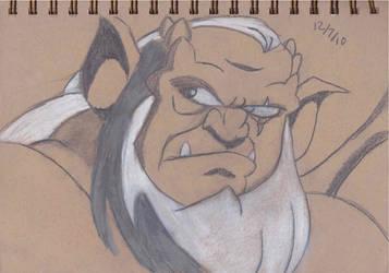 Hudson Sketch 06 by lvl27-Cubone