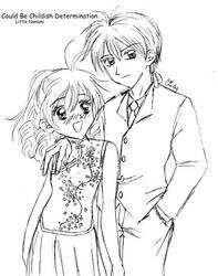 Takuto and Mitsuki by LittleNanami