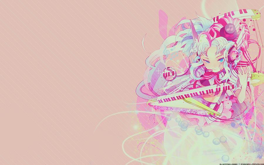 Anime music girl wallpaper by blueangel06661 on deviantart - Anime wallpaper music ...