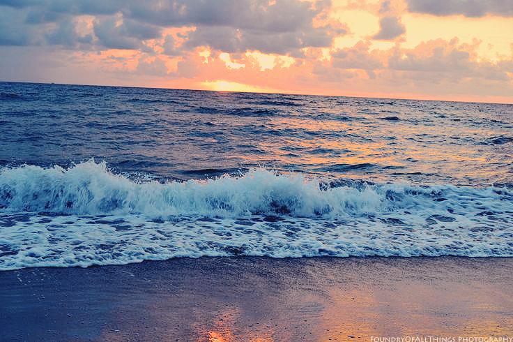 Ocean Sunrise by blueangel06661