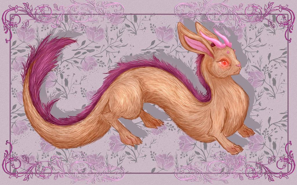 Dragon Rabbit fusion by Mechisto