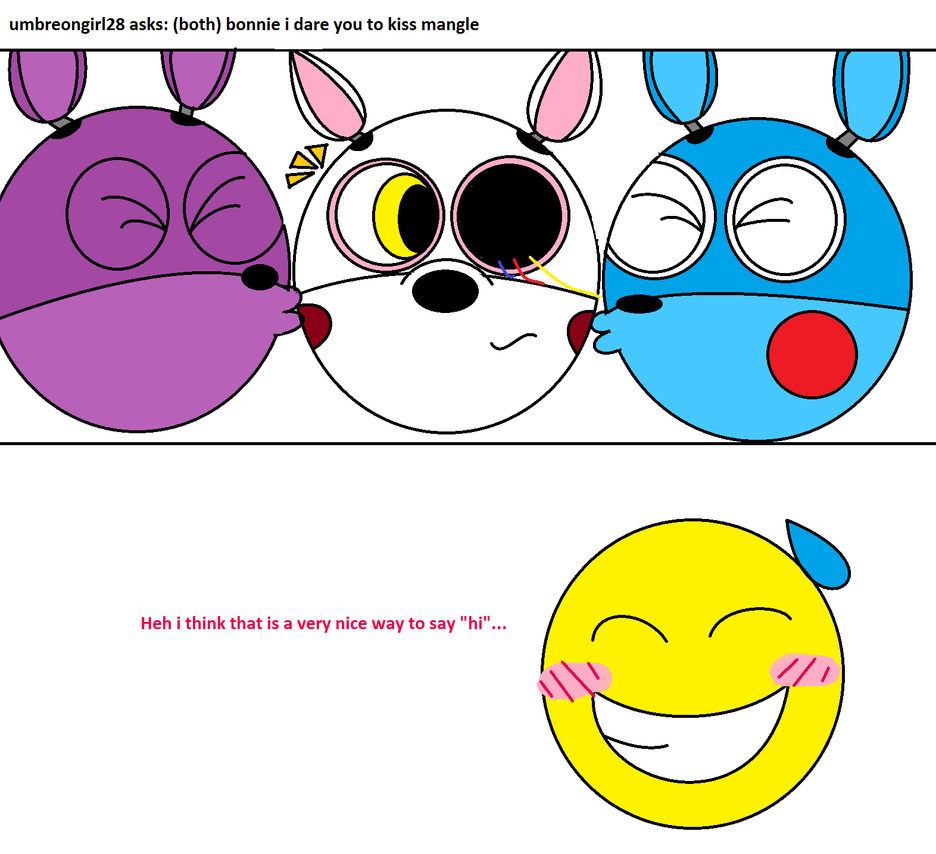Ask Bonnie And Toy Bonnie -124- by AwesomeSilver on DeviantArt