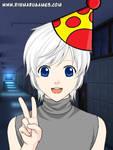 Birthday Boy Blam As An Anime Boy (Day)