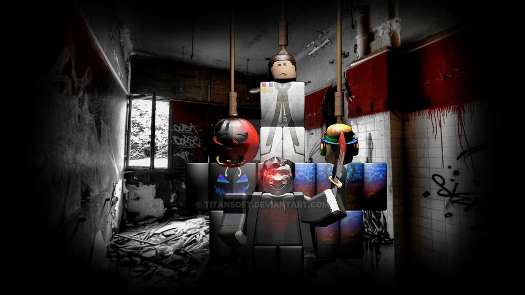 Creepy Gory Wallpaper By TitanSoft