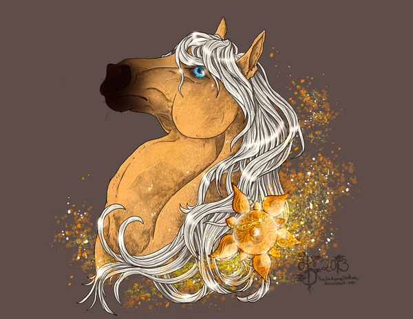 Commish: As Gold As The Sun by Aminirus