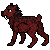 Commish Pixel: Red Kitty by Aminirus