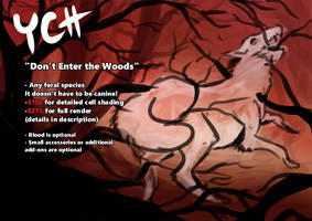 YCH: Don't Enter the Woods (Open)